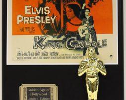 ELVIS-PRESLEY-KING-CREOLE-LTD-EDITION-OSCAR-MOVIE-DISPLAY-FREE-SHIPPING-181468884881