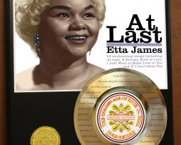 ETTA-JAMES-ETCHED-W-LYRICS-AT-LAST-24kt-GOLD-RECORD-MUSIC-MEMORABILIA-WALLART-170905522621