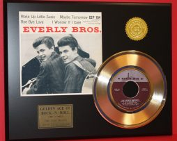 EVERLY-BROTHERS-GOLD-45-RARE-RECORD-WAKE-UP-LITTLE-SUSIE-LTD-EDITION-171045406881