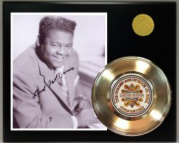 FATS-DOMINO-GOLD-45-RECORD-SIGNATURE-SERIES-LTD-EDITION-FREE-US-SHIPPING-171241102041