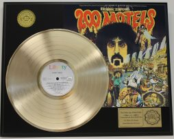 FRANK-ZAPPA-GOLD-LP-LTD-RECORD-DISPLAY-200-MOTELS-FREE-US-SHIPPING-171047811381