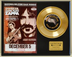 FRANK-ZAPPA-LTD-EDITION-CONCERT-POSTER-SERIES-GOLD-45-DISPLAY-171347804151