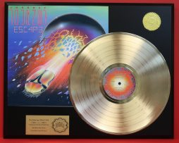 JOURNEY-E5C4P3-24KT-GOLD-LP-LTD-EDITION-RARE-RECORD-DISPLAY-AWARD-QUALITY-170992475551