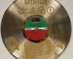 LED-ZEPPELIN-LASER-ETCHED-GOLD-PLATED-LP-RECORD-WALL-CLOCK-FREE-SHIPPING-171960615101