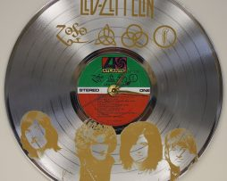 LED-ZEPPELIN-LASER-ETCHED-PLATINUM-PLATED-LP-RECORD-WALL-CLOCK-FREE-SHIPPING-171964818921
