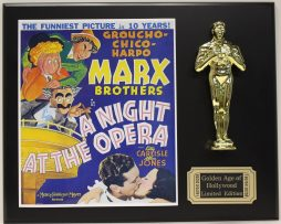MARX-BROTHERS-LTD-EDITION-OSCAR-MOVIE-DISPLAY-FREE-US-SHIPPING-181464175261