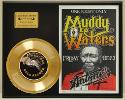 MUDDY-WATERS-LTD-EDITION-CONCERT-POSTER-SERIES-GOLD-45-DISPLAY-181427871111