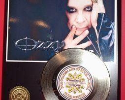 OZZY-OSBOURNE-LTD-EDITION-GOLD-45-RECORD-DISPLAY-171374832351