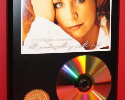 REBA-MCENTIRE-24kt-GOLD-CDDISC-COLLECTIBLE-RARE-AWARD-QUALITY-PLAQUE-GIFT-180861218761