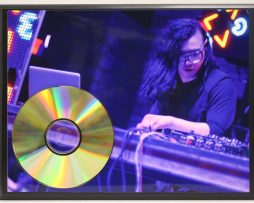 SKRILLEX-24kt-GOLD-CD-LTD-EDITION-PLAQUE-FAST-FREE-US-PRIORITY-SHIPPING-181465741751