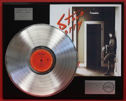 STEVE-PERRY-PLATINUM-LP-LTD-EDITION-RECORD-DISPLAY-AWARD-QUALITY-SHIPS-FREE-170994121691