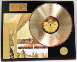 STEVIE-WONDER-GOLD-LP-LTD-EDITION-RARE-RECORD-AWARD-QUALITY-DISPLAY-SHIPS-FREE-171221178541