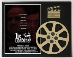 THE-GODFATHER-MARLON-BRANDO-AL-PACINO-JAMES-CAAN-LTD-EDITION-MOVIE-REEL-DISPLAY-182171156601