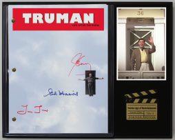 THE-TRUMAN-SHOW-LTD-EDITION-REPRODUCTION-MOVIE-SCRIPT-CINEMA-DISPLAY-C3-182128686121