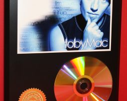 TOBYMAC-24kt-GOLD-CDDISC-COLLECTIBLE-RARE-AWARD-QUALITY-PLAQUE-GIFT-180872297741