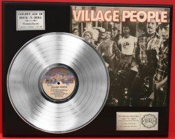 VILLAGE-PEOPLE-PLATINUM-LP-LTD-EDITION-RECORD-DISPLAY-FREE-SHIPPING-171142517301