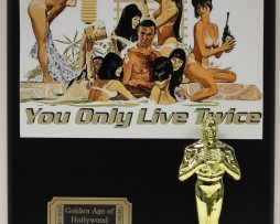 YOU-ONLY-LIVE-TWICE-SEAN-CONNERY-007-OSCAR-MOVIE-DISPLAY-FREE-US-SHIPPING-181204942201