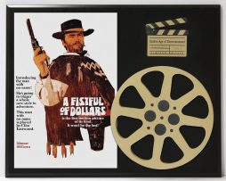 A-FISTFUL-OF-DOLLARS-CLINT-EASTWOOD-LIMITED-EDITION-MOVIE-REEL-DISPLAY-182171058682