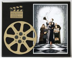 ADDAMS-FAMILY-RAUL-JULIA-ANJELICA-HUSTON-LIMITED-EDITION-MOVIE-REEL-DISPLAY-182163635372