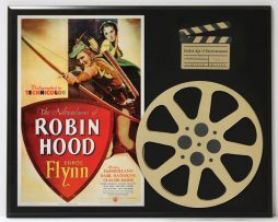 ADVENTURES-OF-ROBIN-HOOD-WITH-ERROL-FLYNN-2-LIMITED-EDITION-MOVIE-REEL-DISPLAY-182163644942