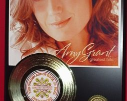 AMY-GRANT-Christian-Music-ARTGOLD-RECORD-AWARD-QLTY-LTD-EDITION-COLLECTIBLE-170833578442