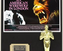 AN-AMERICAN-WEREWOLF-IN-LONDON-LTD-EDITION-OSCAR-MOVIE-DISPLAY-FREE-SHIPPING-171385113222
