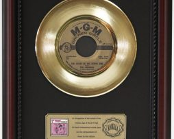 ANIMALS-HOUSE-OF-THE-RISING-SUN-GOLD-RECORD-CUSTOM-FRAME-CHERRYWOOD-DISPLAY-K1-182083909502