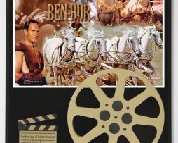 BEN-HUR-1959-MOVIE-WITH-CHARLTON-HESTON-LIMITED-EDITION-MOVIE-REEL-DISPLAY-182165790682