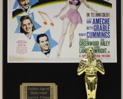 BETTY-GRABLE-MOON-OVER-MIAMI-LTD-EDITION-OSCAR-MOVIE-DISPLAY-FREE-SHIPPING-181468894072