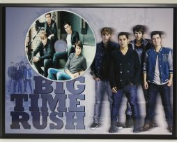 BIG-TIME-RUSH-LIMITED-EDITION-PICTURE-CD-POSTER-DISPLAY-FREE-SHIPPING-171386805072