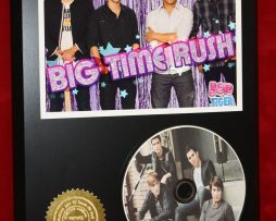 BIG-TIME-RUSH-LTD-EDITION-PICTURE-CD-DISC-COLLECTIBLE-RARE-AWARD-QUALITY-DISPLAY-171451418912