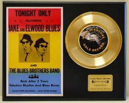 BLUES-BROTHERS-LTD-EDITION-CONCERT-POSTER-SERIES-GOLD-45-DISPLAY-SHIP-US-FREE-171071355702