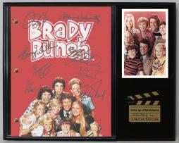 BRADY-BUNCH-LTD-EDITION-REPRODUCTION-TELEVISION-SCRIPT-DISPLAY-C3-181886630322