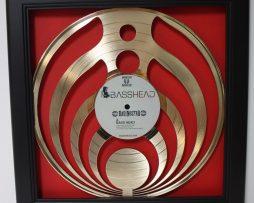 Bassnectar-Framed-Laser-Cut-Gold-Plated-Vinyl-Record-in-Shadowbox-Wallart-172387398172