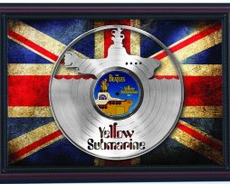 Beatles-Yellow-Submarine-Cherry-Frame-Laser-Cut-Platinum-Record-Flag-K1-172344580282