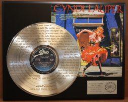 CYNDI-LAUPER-PLATINUM-LP-RECORD-LASER-ETCHED-LYRICS-FAST-FREE-US-SHIPPING-170941814402