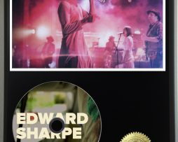 EDWARD-SHARPE-AND-THE-MAGNETIC-ZEROS-LTD-EDITION-PICTURE-CD-DISC-DISPLAY-181460537302