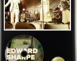 EDWARD-SHARPE-AND-THE-MAGNETIC-ZEROS-LTD-EDITION-PICTURE-CD-DISC-DISPLAY-181460544632