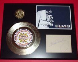 ELVIS-PRESLEY-GOLD-45-RECORD-SIGNATURE-SERIES-LTD-EDITION-DISPLAY-FREE-US-SHIP-171063279322