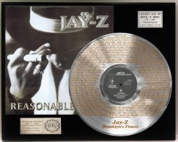 JAY-Z-PLATINUM-LP-RECORD-DISPLAY-ETCHED-W-LYRICS-TO-BROOKLYNS-FINEST-171386571012