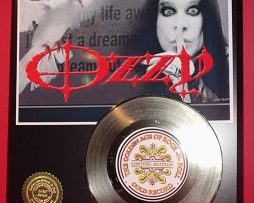 OZZY-OSBOURNE-LIMITED-EDITION-GOLD-45-RECORD-DISPLAY-171374831352
