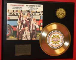 PARTRIDGE-FAMILY-GOLD-45-RECORD-LIMITED-EDITION-RARE-UNIQUE-DISPLAY-180849260992