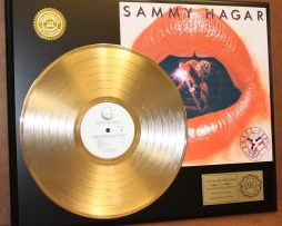 SAMMY-HAGAR-GOLD-LP-LTD-EDITION-RECORD-DISPLAY-AWARD-QUALITY-COLLECTIBLE-180908367122