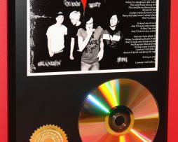 THE-USED-ALTERNATIVE-24kt-GOLD-CDDISC-COLLECTIBLE-RARE-AWARD-QUALITY-PLAQUE-180870596672