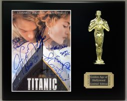 TITANIC-LTD-Edition-Reproduction-Cast-Signed-8x10-Photo-Oscar-Movie-Display-171885276452