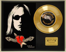 TOM-PETTY-LTD-EDITION-CONCERT-POSTER-SERIES-GOLD-45-DISPLAY-171347924382