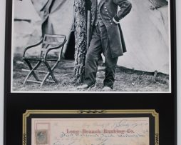 ULYSSES-S-GRANT-CIVIL-WAR-REPRODUCTION-SIGNED-LIMITED-EDITION-CHECK-DISPLAY-172232765742