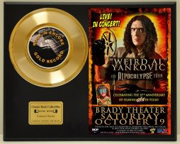WEIRD-AL-YANKOVIC-LTD-EDITION-CONCERT-POSTER-SERIES-GOLD-45-DISPLAY-181427946612