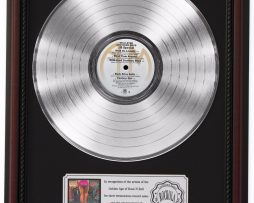 38-SPECIAL-PLATINUM-LP-RECORD-FRAMED-CHERRYWOOD-DISPLAY-K1-182137096913