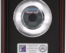 ARETHA-FRANKLIN-WHOS-ZOOMING-WHO-PLATINUM-RECORD-FRAMED-CHERRYWOOD-DISPLAY-K1-182128869423